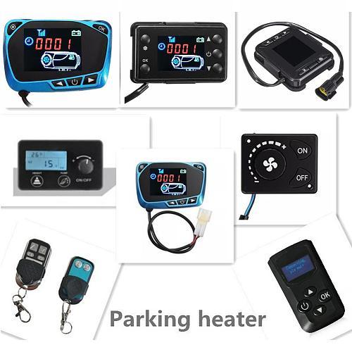 12/24V Parking Air Heater Auto Heater Schakelaar Controller Accessoires LCD Monitor Switch Parking Heater Controller