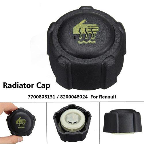 Car Radiator Expansion Water Tank Cap For Renault Clio Kangoo Laguna Megane 04408066 4408066 91166192 8200048024 7700805131