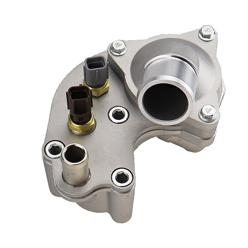 Upgraded Aluminium Thermostat Housing Coolant Water Pipe Fit For Ford Explorer Mercury Mountaineer 1997-2001 YU3Z8A586AA 902204