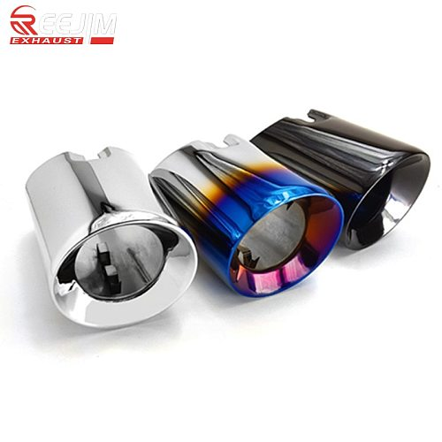 2 Pieces 304 Stainless Steel Exhaut tips for BMW F20 F21 M135 F22 F23 M235i M240i F30 F31 335i 340i F34 GT F32 F33 435i 440i