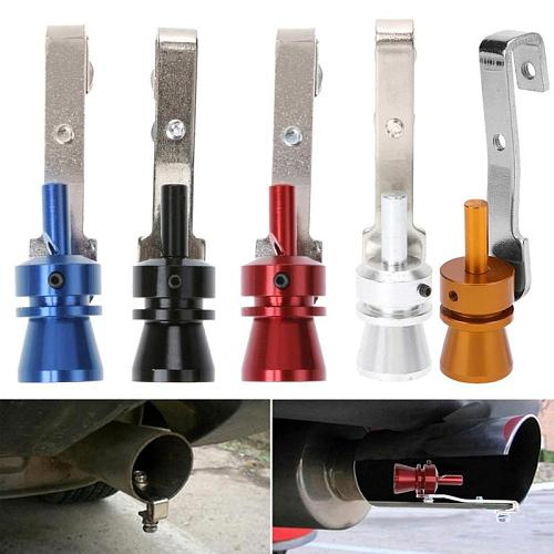 Universal Car Turbo Sound Exhaust Muffler Pipe Whistle Simulator Fake Blow-off BOV Simulator Whistler Vehicles Auto Accessories