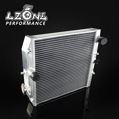 LZONE - 3 Row 52MM Full Aluminum Radiator For HONDA CIVIC B18C/B16A MT 32MM IN/OUT JR-SX104