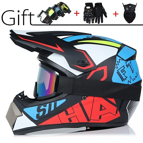 Children Adult Motorcycle Helmet Racing Motocross Casque hors route Casque Moto Capacete Moto Casco Offroad Cartoon Professional