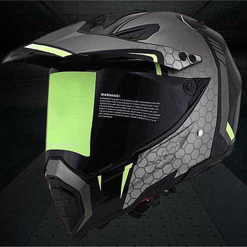 Classic Motocross Helmets ATV MTB motorcycle helmet with lens Motorcycle helmets downhill helmet Fuera de la carretera casco