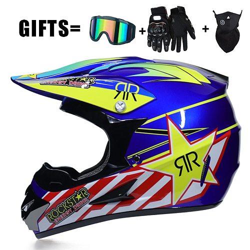 Racing Off-road Motorcycle Helmet Full Face Casco Moto Motocross Motorbike Dirt Bike Helmet Moto Motorcycle Helmet Vintage Casco