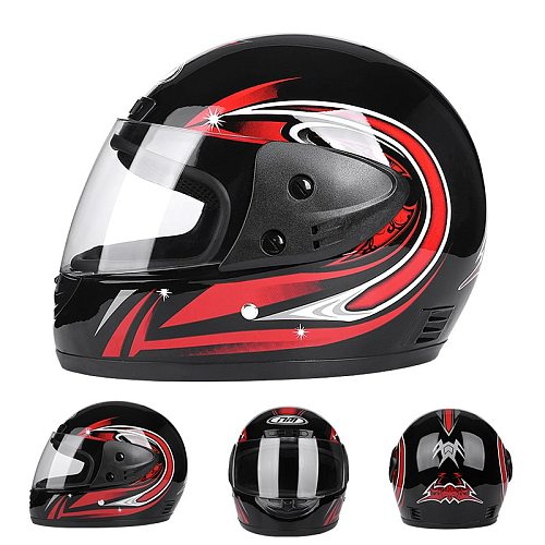 Professional Racing Motocross Casque hors route Casque Moto Capacete Moto Casco -road Cartoon Children Motorcycle Helmet