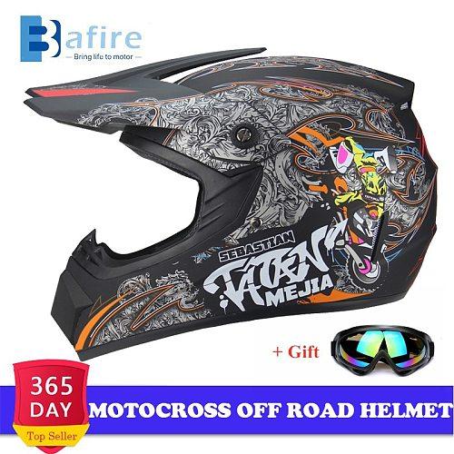 Universal Motorcycle Adult Motocross Off Road Helmet Atv Dirt Bike Downhill MTB DH Unisex Racing Helmet Cross Helmet Capacetes
