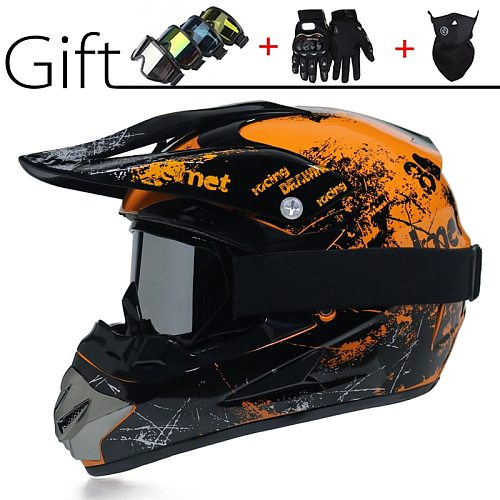 2020 New Motocross Helmet Offroad Bike Downhill Country DH Racing Helm Cross Mountain Full Face Helmet Capacetes