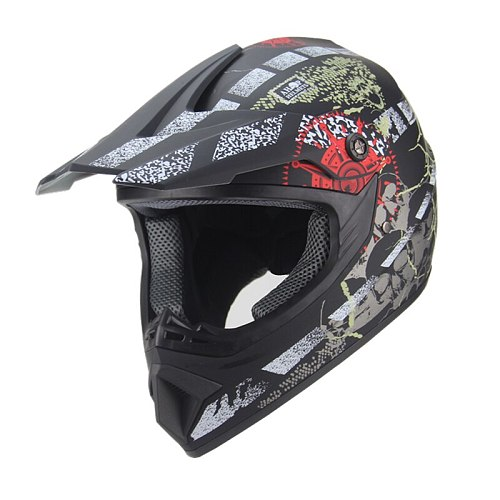 NEW Motorcycle Helmet Motocross Off Road Helmet Moto Casco Men Full Face Helmet Motocross Racing Motorbike capacetes DOT moto