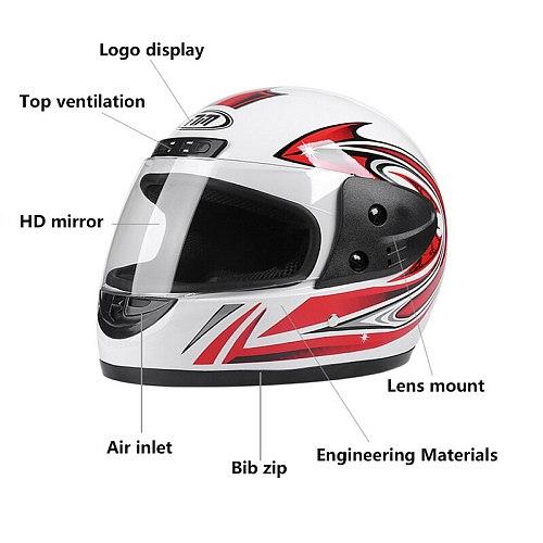Professional Racing Motocross Casque hors route Casque Moto Capacete Moto Casco -road Cartoon Children Motorcycle Helmet