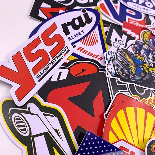 40PCS Many Waterproof Decal Stickers Suitcase MotorcycleElectric Car Refrigerator Computer and other Decoration #4007