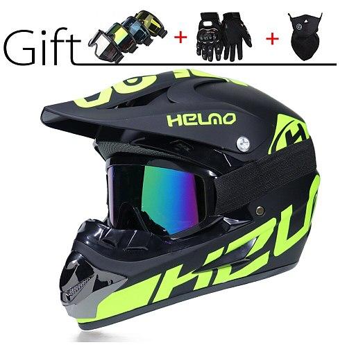 Professional Atv Racing Motorcycle Full Face Helmet Motorcycle Casco Capacetes Motocross Helmet Motorcycle Off-road Helmet