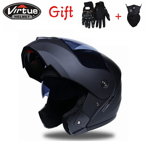 2020 New Flip Up Motorcycle Helmet Motorbike Modular Dual Lens Motocross Moto Helmet Crash Full Face Helmets Casco Moto Casque