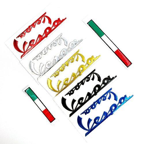 3D Italian Badge Emblem Sticker Decal Kit for PIAGGIO Vespa GTS300 LX125 LX150 125 150 ie Sprint Primavera 300 LX LXV Stickers