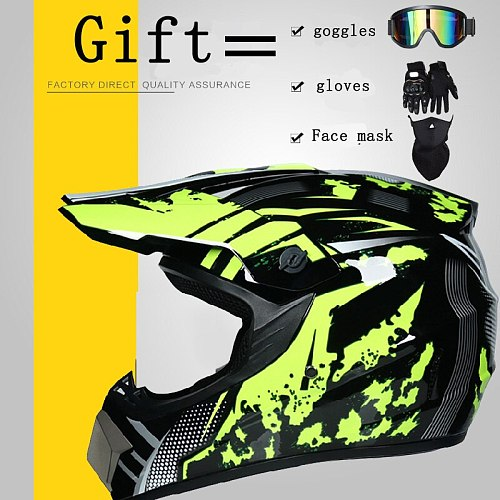 NEW Promotion Helmet Motorcycle off-road Helmet Motocross Racing Helmet Downhill Mountain Helmet Racing Moto Helmet DOT