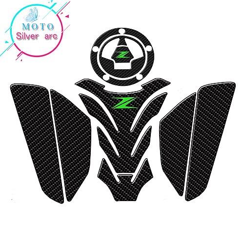 Z logo Motorcycle 3D Tank Pad Protective Decal Sticker For Kawasaki z750 Z800  Z1000
