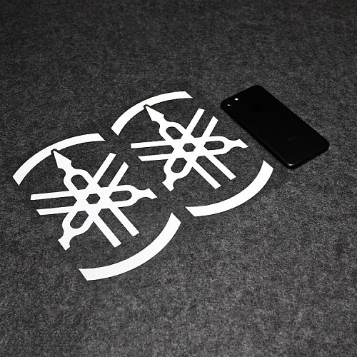 2pcs/lot LuLuSticker #025 20.5x11.5cm Must-buy Reflective Motorcycle Racing Locomotive Scratches Cover Car Stickers and Decals