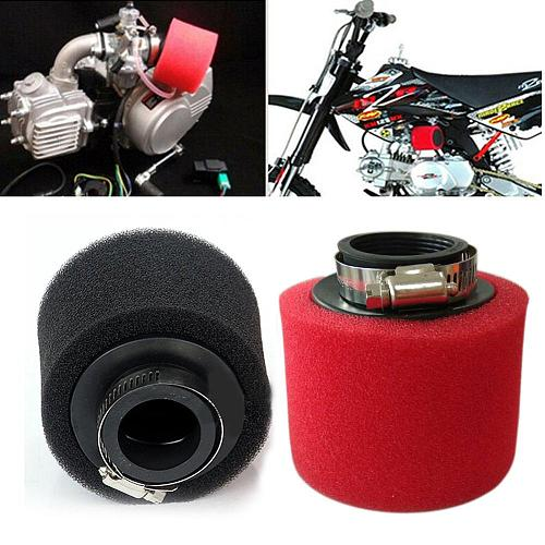 Off Road Motorcycle Sponge Cleaner Scooters Carburetor Accessories Beach Vehicles Reusable Thread Round Air Filter Universal