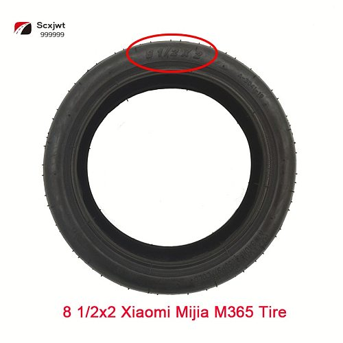 Free shipping 8 1/2 x 2 Tire & inner tube fits Xiaomi Mijia M365 Smart Electric / Gas Scooter Pram Stroller