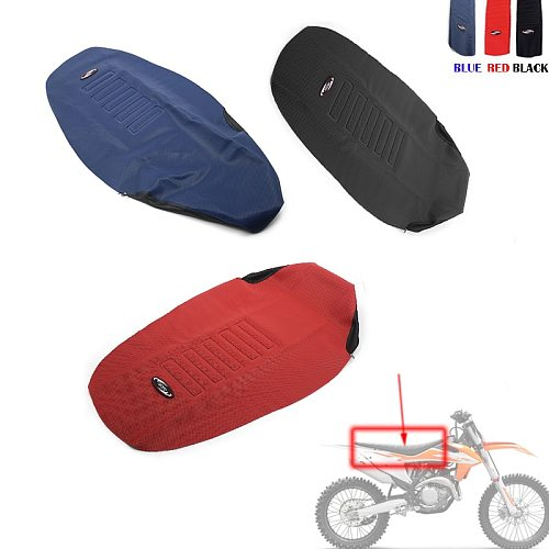 Seat Cover Non-slip Diamond Pattern Stretchy For KTM 150 250 300 350 450 500 EXC EXCF TPI SIX DAYS 2017 - 2020 / 690 SMC LC4