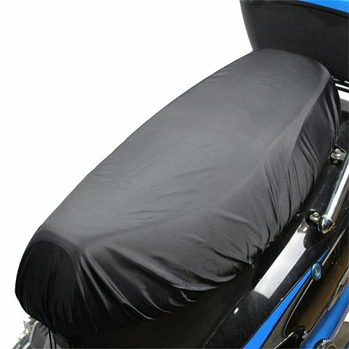 Easy Install Full Coverage Outdoor Waterproof Oxford Cloth Motorcycle Scooter Solid Anti Snow Rain Gear Universal Seat Cover