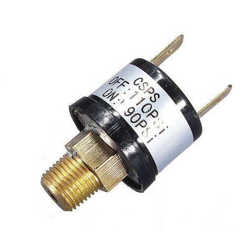 12V 3.5A Horn Compressor Air Pressure Switch Rated 90-110PSI 120-150PSI 170-200PSI