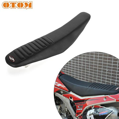 OTOM Motorcycle Universal Pro Rubber Gripper Soft Seat Cover Saddle Cushion Non-slip Stretchy Waterproof For Off Road Dirt Bike