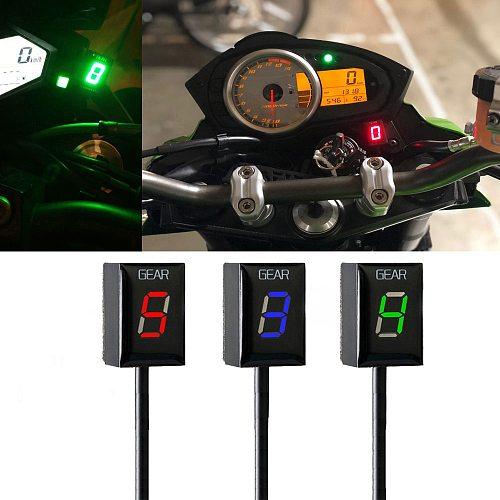 Motorcycle Ecu Direct Mount 1-6 Speed Gear Display Indicator For Kawasaki ER6N Ninja 650 Ninja 300 Z750 Z900 Z800 Zx6R Vulcan S
