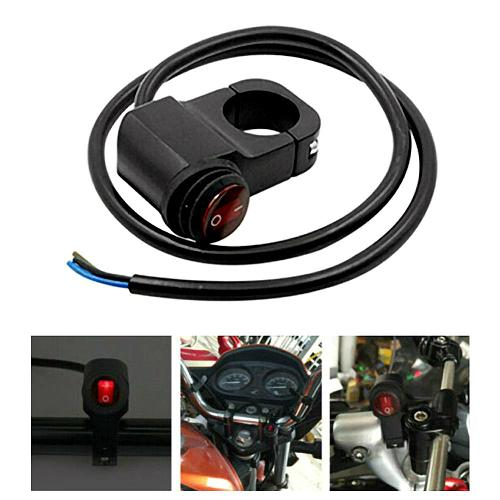 Scooter Motorcycle Handlebar Headlight On/Off Switch for Headlight Fog Spot Light 12V Waterproof Motorcycle Accessories