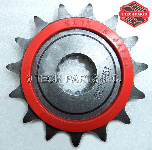 INAZUMA GW250 27510-48H10-000 ENGINE SPROCKET Front Sprocket 15T fit for GW250 GSR250S GSX250R