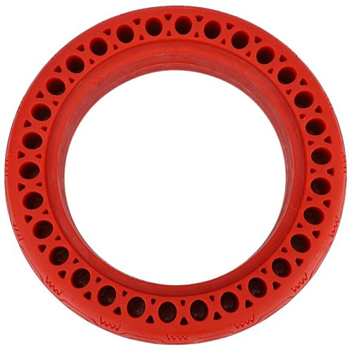 Durable Scooter Tyre Anti-Explosion Tire Tubeless Solid Tyre For Xiaomi Mijia M365/Ninebot Electric Scooter(Red)