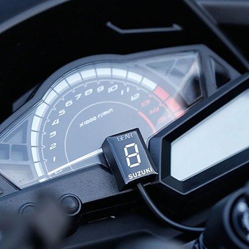 For SUZUKI gsr 600 bandit 650 1200 gsxr sv 400 Intruder 800 V-Strom Gear Display Indicator Motorcycle Ecu Direct Mount 1-6 Speed