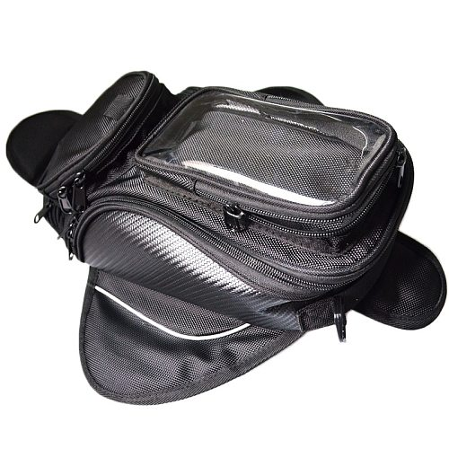 Motorcycle tank bag motorbike oil fuel tank bag Magnetic Tank Bike saddle bag motorcycle bag big screen for phone / GPS