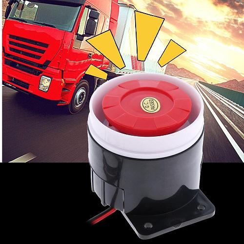 DC 12V Car Warning Siren Backup Alarm Horn Warning Sound Beeper Reverse Siren Horn For Trailer/Truck/RV/ATV/Quad Car Accessories