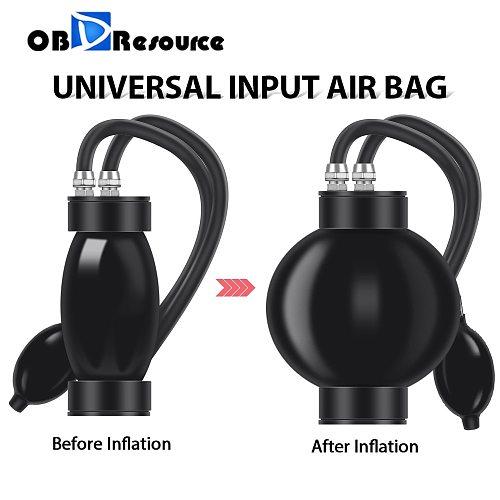 Quick Intake Adaptor Universal Inflatable Block Off Bladder For Car Automobiles Smoke Leak Detector Diagostic Tool Input Air Bag