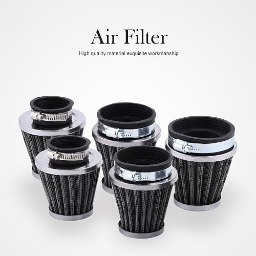 Universal 35/39/48/54/60mm Motorcycle Mushroom Head Air Filter Cleaner For Honda Yamaha Harley Cafe Scooter Filter