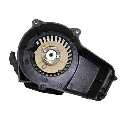 Mortor Aluminum Pull Starter Start fit for 2 Stroke 47cc 49cc Mower Engines For Motorcycle Mini Pocket Bikes ATVs Quad