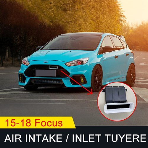 for focus Hatchback 4D Sedan 5D Air inlet tuyere Air intake ABS Car modification Accessories 2015 2016 2017 2018