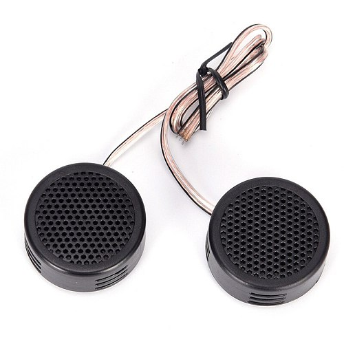New 2Pcs 500 Watts Car Audio Super Power Loud Dome Stereo Tweeter Speakers For Car