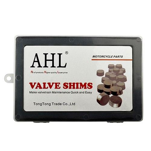 5pcs 7.48mm 7.48 mm Adjustable Complete Valve Shim Cams Kit For Honda For YAMAHA For KAWASAKI For SUZUKI Motorcycle Engine Part