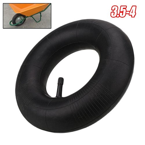 10 inch Rubber Air Innertube For Hand Truck Wagon Wheelbarrow Tire 3.5-4 Inner Tube 10  Gardening Supplies