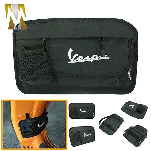 Universal Storage Bag for Piaggio Vespa GTS 150 125 200 Super LX 125FL GTS 125ie 300ie Super GTS 300 Motorbike Tool Glove Bag