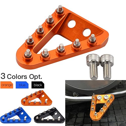 Rear Brake Pedal Step Tip Plate For KTM SX SXF EXC EXCF XC XCF XCW XCFW For Husqvarna 125 150 250 350 450 500 2017-2020 2016