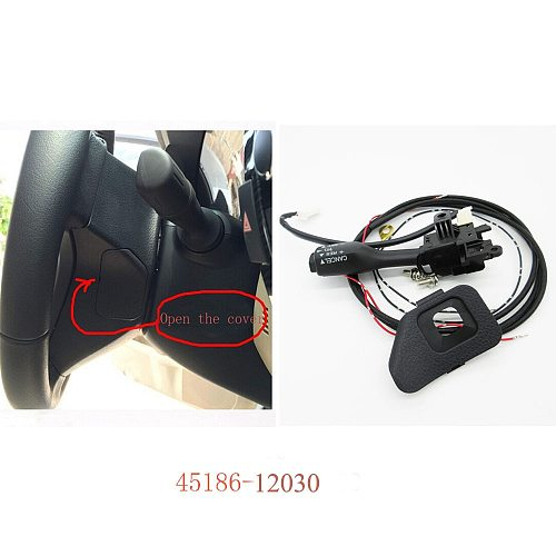 Cruise Control switch 45186-12030 For COROLLA ZRE18* 2014 and RAV4 ASA44,ZSA4* 2014 2015