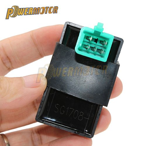 5Pin 12V Black Motorcycle 60*35*50mm AC Ignition CDI UNIT for 50CC-110CC Pit PRO Trail Quad Dirt Bike ATV Motorcycle Ignition