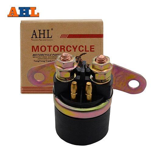 AHL Motorcycle Starter Relay Solenoid For SUZUKI GS 1150 GS1150 GN125 GN 125 GS300 GSF 400 GSF400 GS500 GSX600 GSX 600 LS650