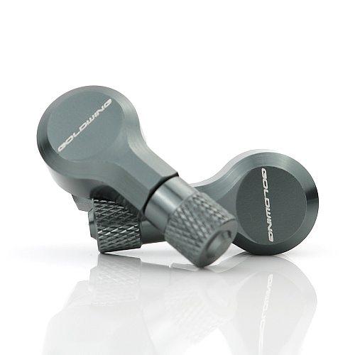 For Honda Goldwing GL1800 GL1500 Motorcycle CNC Wheel Tubeless Tire Valve Stems 11.3mm 90 Degree