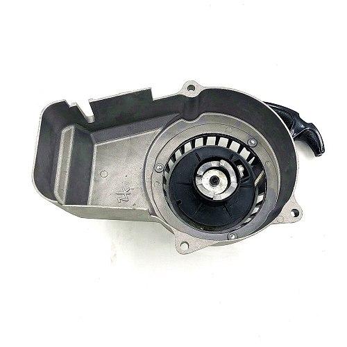 Aluminum Pull Start Recoil Starter Part For 2 Stroke 47cc 49cc Engine Pocket Bike Mini Moto Dirt Kids ATV Quad 4 Wheeler