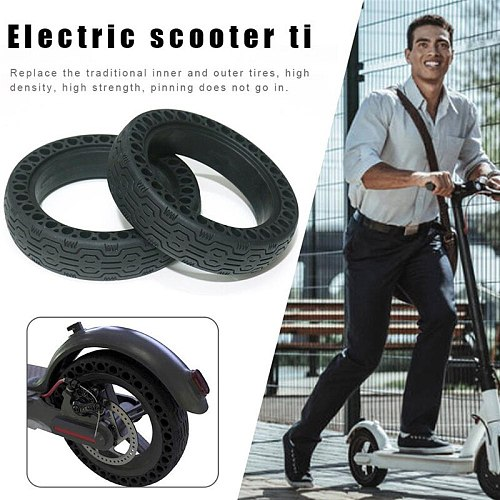 Scooter Skateboard Tyre Solid Hole Tires for Xiaomi Mijia M365 Scooter Non-Pneumatic Tyre Damping Rubber Tyres Earthquake-proof