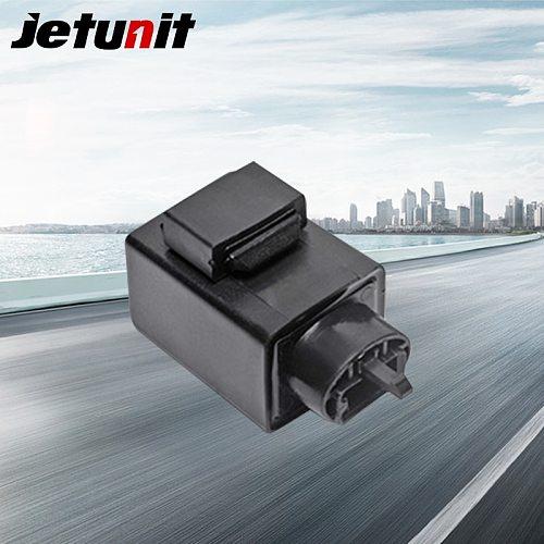 JETUNIT Motorcycle LED Flasher Relay for Honda Yamaha Kawasaki Sundown Motorcycle Electrical Parts Motorcycle Accessories